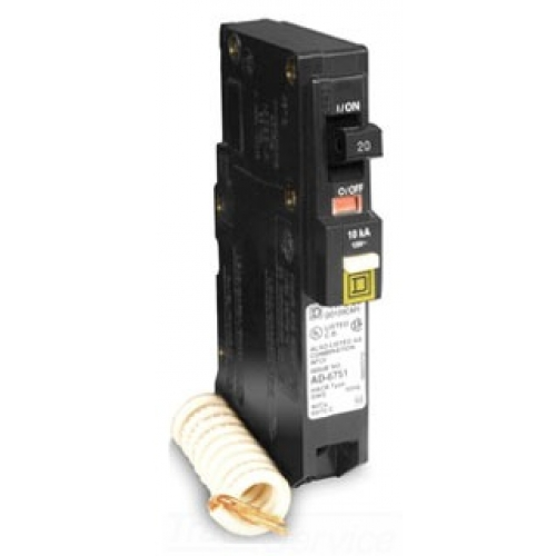 Where are arc fault breakers required