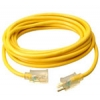 12/3 100FT YELLOW K&M CORD | www.kmelectric.com