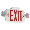 RED LED EMRG EXIT LIGHT COMBO | www.kmelectric.com