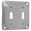 4 COVER 1/2 RAISED 2 TOGGLE SWITCH | www.kmelectric.com
