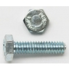 1/2 X 1 HEX BOLT GRADE 2 FULLY THREADED ZINC | www.kmelectric.com