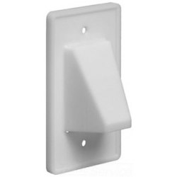 Arlington Industries CE1 | 1G SCOOP PLATE WHITE | A9CE1 | 01899710460 | KM Electric Supply, Inc