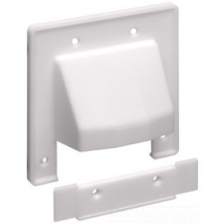 Arlington Industries CER2 | 2G SPLIT PLATE WHITE | A9CER2 | 01899710474 | KM Electric Supply, Inc