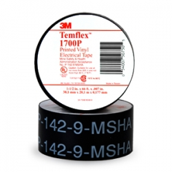 3M Electrical Products 1700-TEMFLEX | VINYL TAPE 3/4X60FT | MM1700-TEMFLEX | 05400749571 | KM Electric Supply, Inc