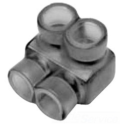 Burndy BIT-2/0 | 2HOLE UNI-TAP #2/0-14 | BCBIT-2/0 | 78181013406 | KM Electric Supply, Inc