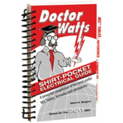 Atlas Publishing 6296-11 | DR. WALTS ELEC GUIDE '11 ENGL | W76296-11 | 78193334548 | KM Electric Supply, Inc