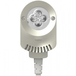 Adorne ALPKLEDTM4 | Titanium LED Puck Light | A6ALPKLEDTM4 | 78677617818 | KM Electric Supply, Inc