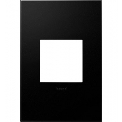 Adorne AWP1G2GR6 | Graphite Graphite 1-Gang Wall Plate | A6AWP1G2GR6 | 78500702384 | KM Electric Supply, Inc