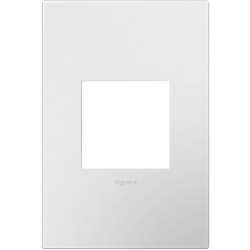 Adorne AWP1G2WH10 | Gloss White Gloss White 1-Gang Wall Plate | A6AWP1G2WH10 | 78500702473 | KM Electric Supply, Inc