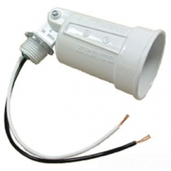 Bell 5606-1 | WP LAMPHOLDER WHITE | BE5606-1 | 05016956061 | KM Electric Supply, Inc