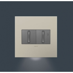 Adorne AAAL2G2 | ACCENT NIGHT LIGHT 2 GANG | A6AAAL2G2 | 78500702589 | KM Electric Supply, Inc