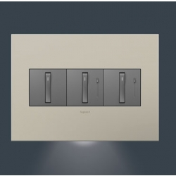 Adorne AAAL3G2 | ACCENT NIGHT LIGHT 3 GANG | A6AAAL3G2 | 78500702498 | KM Electric Supply, Inc
