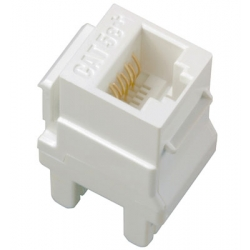 Adorne AC5ERJ45W5 | CAT5E RJ45 T568-A/B KYSTN CONN (5PK) | A6AC5ERJ45W5 | 80442806530 | KM Electric Supply, Inc