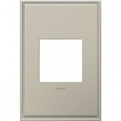 Adorne AWC1G2AN4 | ANTIQUE NICKEL W/BORDER-1G/2MOD WP | A6AWC1G2AN4 | 78500702424 | KM Electric Supply, Inc
