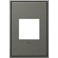 Adorne AWC1G2BP4 | BURNISHED PEWTER W/BORDER 1G/2MOD WP | A6AWC1G2BP4 | 78500702490 | KM Electric Supply, Inc