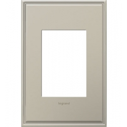 Adorne AWC1G3AN4 | ANTIQUE NICKEL W/BORDER 1G/3MOD WP | A6AWC1G3AN4 | 78500702483 | KM Electric Supply, Inc