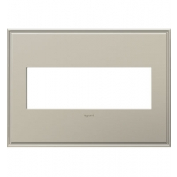 Adorne AWC3GAN4 | ANTIQUE NICKEL W/BORDER 3G WP | A6AWC3GAN4 | 78500702407 | KM Electric Supply, Inc