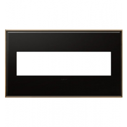 Adorne AWC4GOB4 | OIL RUBBED BRONZE W/BORDER 4G WP | A6AWC4GOB4 | 78500702371 | KM Electric Supply, Inc