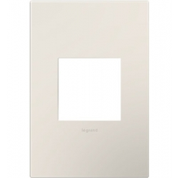 Adorne AWP1G2LA6 | SATIN LT ALM - 1G/2MOD WALL PLATE | A6AWP1G2LA6 | 78500702464 | KM Electric Supply, Inc