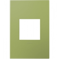 Adorne AWP1G2LG6 | LICHEN GREEN - 1 GANG WALL PLATES | A6AWP1G2LG6 | 78500702391 | KM Electric Supply, Inc