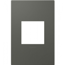 Adorne AWP1G2MO6 | ST MOSS GREY- 1G/2MOD WALL PLATE | A6AWP1G2MO6 | 78500702433 | KM Electric Supply, Inc