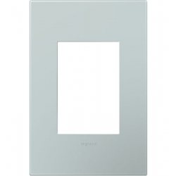 Adorne AWP1G3BL4 | PALE BLUE-1 GANG/3MOD WALL PLATE | A6AWP1G3BL4 | 78500702462 | KM Electric Supply, Inc