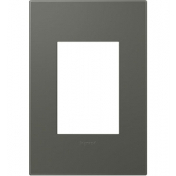 Adorne AWP1G3MO4 | ST MOSS GREY - 1G/3MOD WALL PLATE | A6AWP1G3MO4 | 78500702472 | KM Electric Supply, Inc