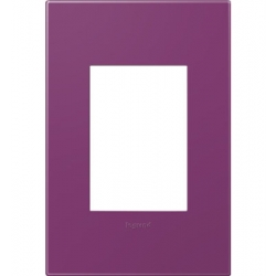 Adorne AWP1G3PL4 | PLUM - 1 GANG/3MODULE WALL PLATES | A6AWP1G3PL4 | 78500702397 | KM Electric Supply, Inc