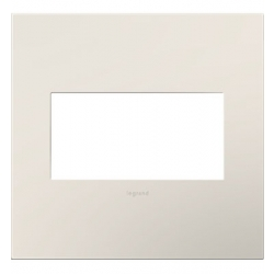 Adorne AWP2GLA4 | SATIN LIGHT ALMOND- 2G WALL PLATE | A6AWP2GLA4 | 78500702416 | KM Electric Supply, Inc