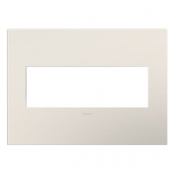 Adorne AWP3GLA4 | SATIN LIGHT ALMOND- 3G WALL PLATE | A6AWP3GLA4 | 78500702441 | KM Electric Supply, Inc