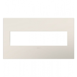 Adorne AWP4GLA4 | SATIN LIGHT ALMOND- 4G WALL PLATE | A6AWP4GLA4 | 78500702356 | KM Electric Supply, Inc