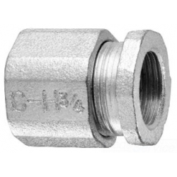 COOPER CROUSE-HINDS 196 | 2 1/2 3PC CONDUIT COUPLING | CH196 | 78456410196 | KM Electric Supply, Inc